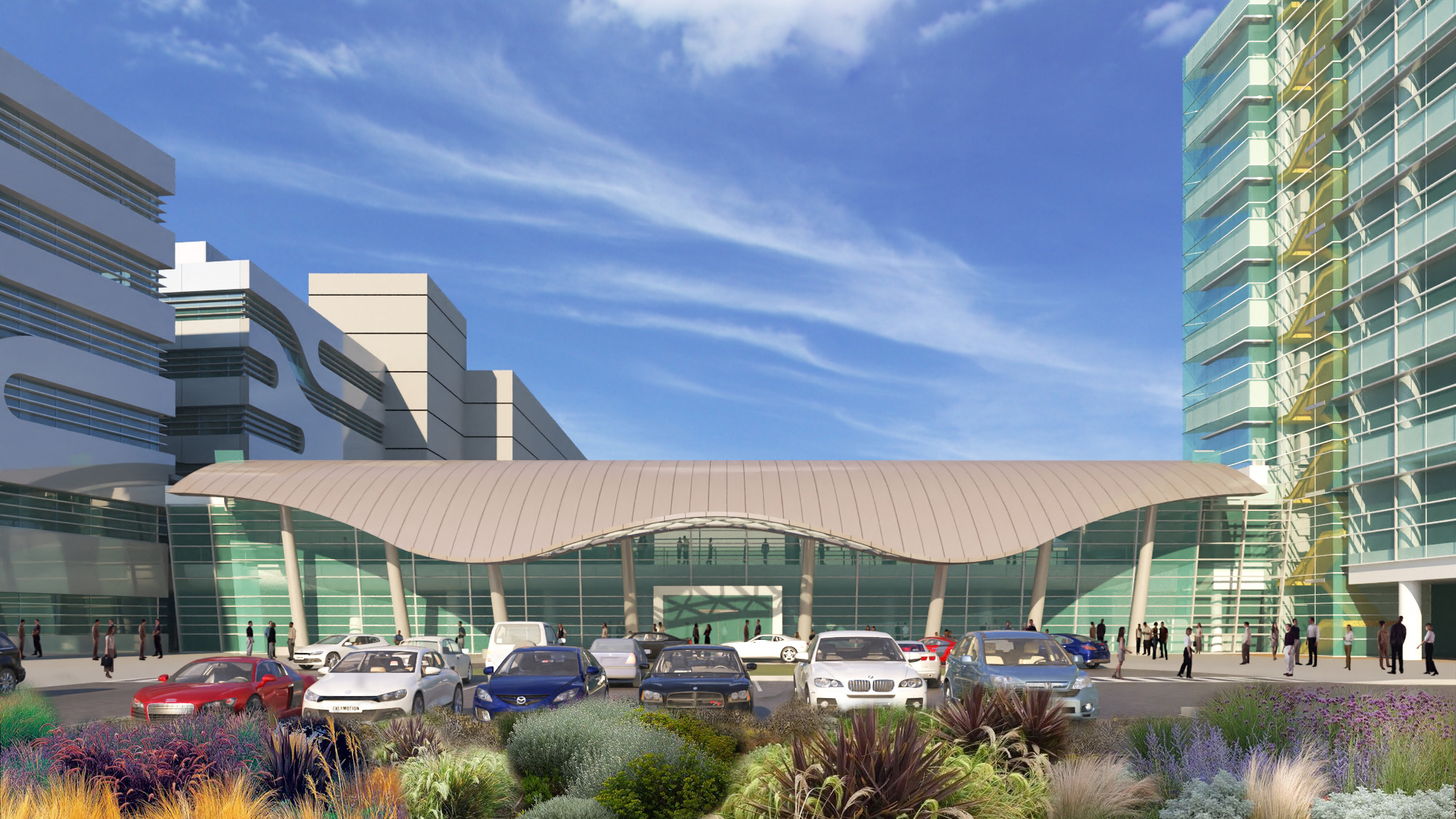 Harbor UCLA Medical Center – Outpatient Tower | Architects